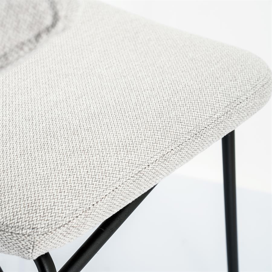 Bar chair Crockett - taupe